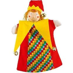 Pacynka do zabaw w teatr - Królewski klaun