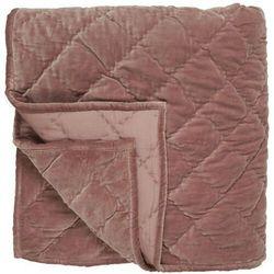 Ib Laursen - Narzuta aksamitna podwójna na łóżko w kolorze piwonii