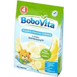 BoboVita Kaszka mleczno-ryżowa o smaku bananowym po 4 miesiącu 230 g (5900852007507)