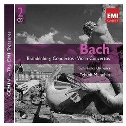 Gemini - Brandenburg And Violin Concertos - Yehudi Menuhin (muzyka klasyczna)