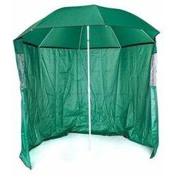 Happy green parasol przeciwsłoneczny ze ścianą boczną, średnica 230 cm (8591022461549)