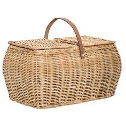 Bloomingville -koszyk piknikowy rattanowy