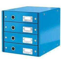 Kontener szufladowy Leitz Wow A4 6049-36 niebieski
