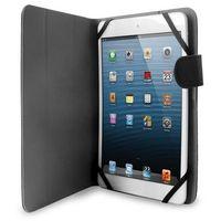 universal booklet easy - etui tablet 8'' w/folding back + stand up + magnetic closure (czarny) - blisko 700 pu