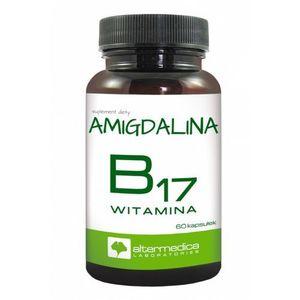 Alter Medica, Witamina B17, Amigdalina, kapsułki, 60 szt. (5907530440618)