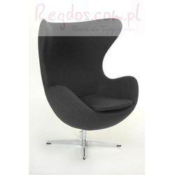 Fotel Jajo ciemnoszary kaszmir #41 - produkt z kategorii- Krzesła i stoliki