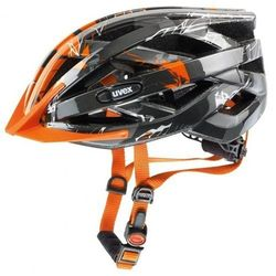 Kask rowerowy Uvex I-vo c grafitowo-pomarańczowy - sprawdź w wybranym sklepie