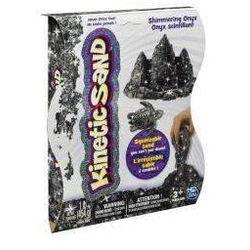 Kinetic Sand - połyskujący piasek 454g czarny ze sklepu InBook.pl