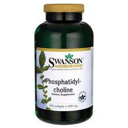 Swanson Fosfatydylocholina 420mg 200 kaps. - kapsułki tabletki na odchudzanie