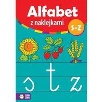 Alfabet z naklejkami S - Z (24 str.)