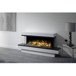 Kominek wolnostojący Flamerite Fires Exo 1000 FS z półką. Efekt płomienia LED Radia Flame - PROMCJA