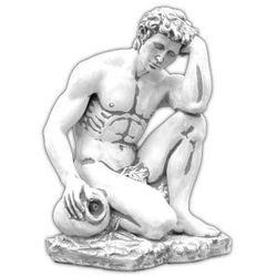 Figura ogrodowa betonowa Mężczyzna z dzbanem 85cm