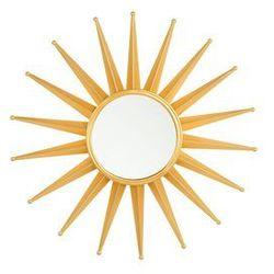 Lustro ścienne złote ø60 cm PERELLI (4251682207751)