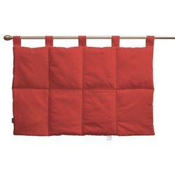 wezgłowie na szelkach, czerwony, 90 x 67 cm, loneta marki Dekoria