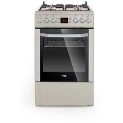 Beko CSM52321D, kuchnia gazowo-elektryczna