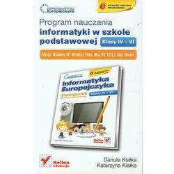 Program nauczania informatyki w szkole podstawowej klasy IV-VI (Helion)