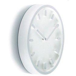 Zegar ścienny Tempo jasnoszary