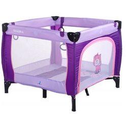 Caretero kojec Quadra dla dzieci purple