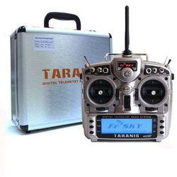Aparatura FrSky Taranis X9D Plus z telemetrią + odbiornik X8R + aluminiowa walizka