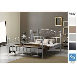 łóżko metalowe spirale 140 x 200 marki Frankhauer