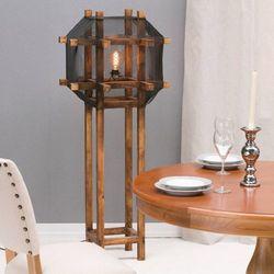 Dekoria  lampa podłogowa the cage 145cm, 60x60x145cm