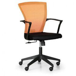 Fotel biurowy bret, pomarańczowy marki B2b partner