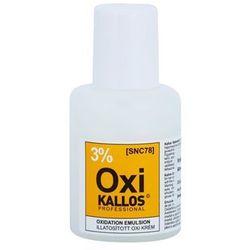 oxi kremowy utleniacz 3%. wyprodukowany przez Kallos