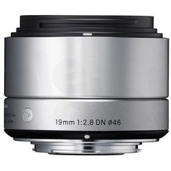 19 mm f/2,8 dn a (srebrny) sony e - produkt w magazynie - szybka wysyłka! od producenta Sigma