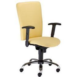 Krzesło obrotowe bolero iii r15k steel03 chrome - biurowe z regulacją głębokości siedziska, krzes marki Nowy styl