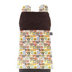 Cuddly Zoo, Retro gadżet Dziadka Zenka, Cudly back, Chocolate, oparcie na krzesło z kategorii Dekoracje i ozdoby dla dzieci