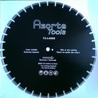 Asorte tools _tarcza diamentowa fi 600 mm do asfaltu i świeżego betonu spawana laserem !!, kategoria: akceso