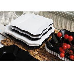 LUMINARC AUTHENTIC BLACK & WHITE Serwis obiadowy 19/6