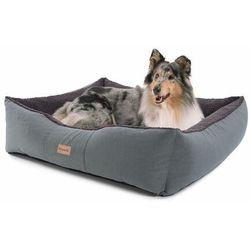 Brunolie Emma, legowisko/kosz dla psa, możliwość prania, antypoślizgowe, oddychające, materac dwustronny, poduszka, rozmiar L (100 x 30 x 90 cm)