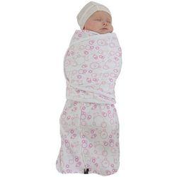 Otulacz dla noworodka - rożowy marki Mum 2 mum