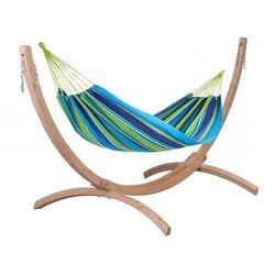 Zestaw hamakowy spring flow – wiosenny podmuch, niebieski sf-h 242 marki La siesta