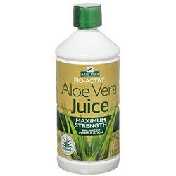 Aloesowy czysty miąższ do picia 1L - produkt z kategorii- Zdrowa żywność