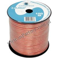 Przewód głośnikowy kabel CCA 2x0,5 mm 100m - sprawdź w wybranym sklepie