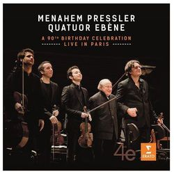 Menahem Pressler - The 90th Birthday Celebration [CD/DVD] - Menahem Pressler, Quatuor Ebene z kategorii Musica