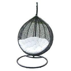 Miloo :: Fotel wiszący Cocoon brązowo-biały - Miloo :: Fotel wiszący Cocoon brązowo-biały ||brązowo-biały - produkt z kategorii- Krzesła ogrodowe