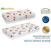 Materac lateksowy  disney junior lux 200x90 + poduszka lateksowa gratis !! od producenta Hevea