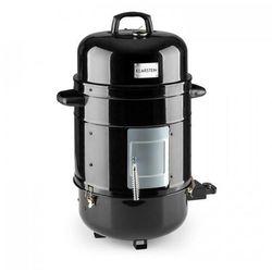 Klarstein Barney Elektryczny BBQ grill 3w1 wędzarnia 1800W 3x40 cm