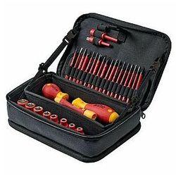 Zestaw narzędzi Wiha slimVario® electric mieszany - 31 sztuk w funkcjonalnej torbie, WH43465
