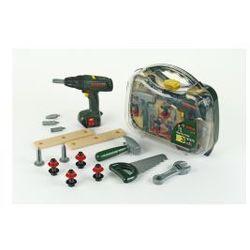 Klein Bosch Walizka z wkrętarką i narzędziami 8428 (skrzynka narzędziowa zabawka)