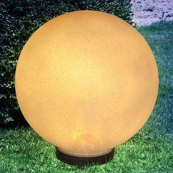 Globo Lampa solarna preeti 30 cm z grotem, jak kamień (9007371356751)
