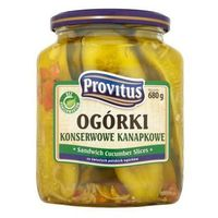 Ogórki konserwowe kanapkowe 680 g  marki Provitus