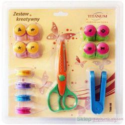 Zestaw kreatywny TITANUM z nożyczkami 242925 oferta ze sklepu Sklep papierniczy