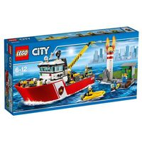 Lego CITY Łódź strażacka (fire boat) 60109