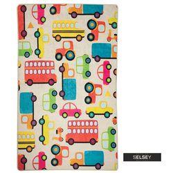 Selsey dywan do pokoju dziecięcego dinkley auta 140x190 cm (5903025555201)