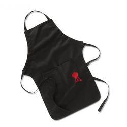 Fartuch Weber do grilla czarny z czerwonym logo oferta ze sklepu 4prestige