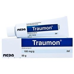 Traumon żel 0,1 g/g 50 g, postać leku: żel